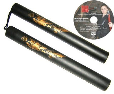 سلاح نانچیکو + DVD آموزش فنون به سبک بروسلی