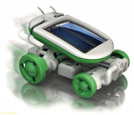 اسباب بازی روبات خورشیدی ۶ کاره