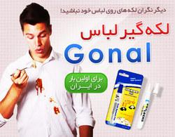 قلم لکه گیر لباس ۶ عددی Gonal