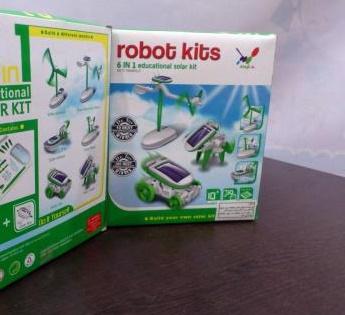 روبات خورشیدی 3 کاره بازی فکری مهندسی