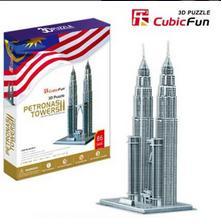 پازل ۳D برج پتروناس