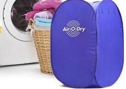 محفظه خشک کننده لباس خانگی سیار AirODry