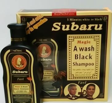 شامپو سوبارو Subaru رفع سفیدی مو گیاهی
