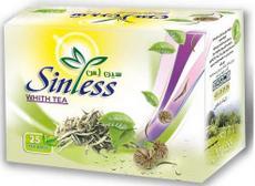 چای سفید کیسه ای سین لس Sinless
