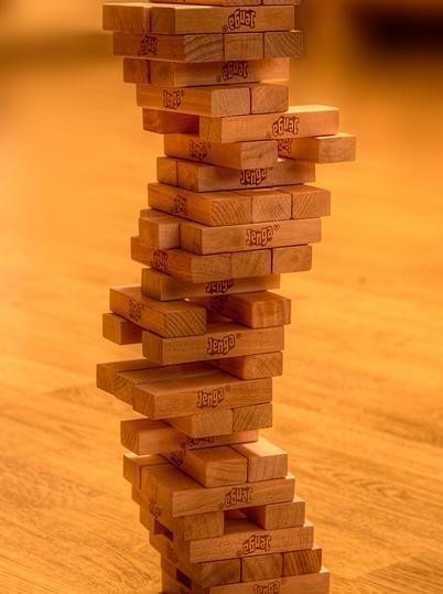 بازی برج هیجان جنگا 48 قطعه چوبی