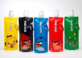 بطری نوشیدنی Angry Birds در ۵ رنگ