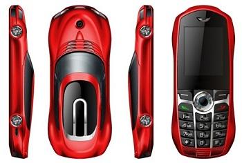 موبایل لوکس کوچک دو سیمکارت طرح ماشین