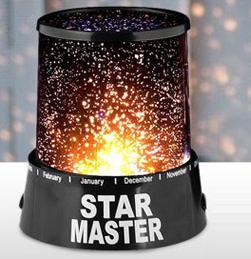 Star Master چراغ خواب مدرن ؛ تابش صدها ستاره بر دیوار و سقف
