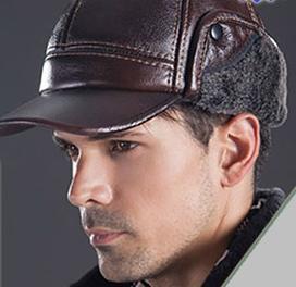 کلاه چرمی لبه دار طرح Jeep