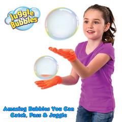 بازی دست و حباب با حباب ساز juggle bubbles