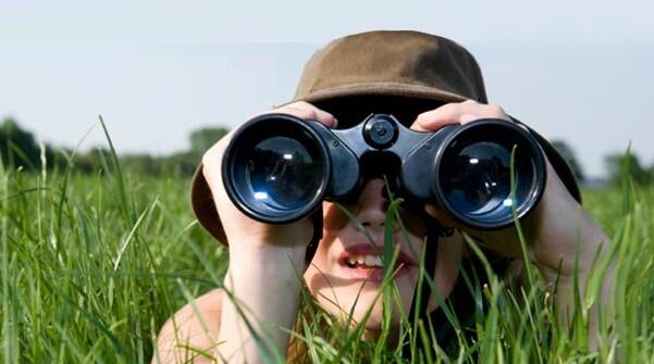 دوربین شکاری دو چشم بزرگنمایی تا ۱۰ برابر