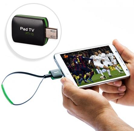 گیرنده تلویزیون برای گوشی و تبلت بدون اینترنت PAD TV