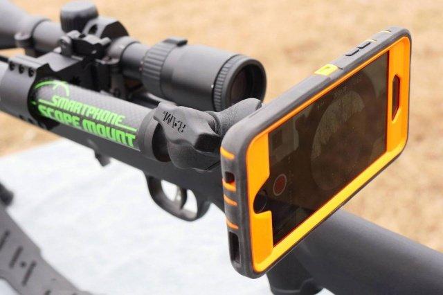 گوشی هوشمند هدف یاب برای کوه نوردی و شکار
