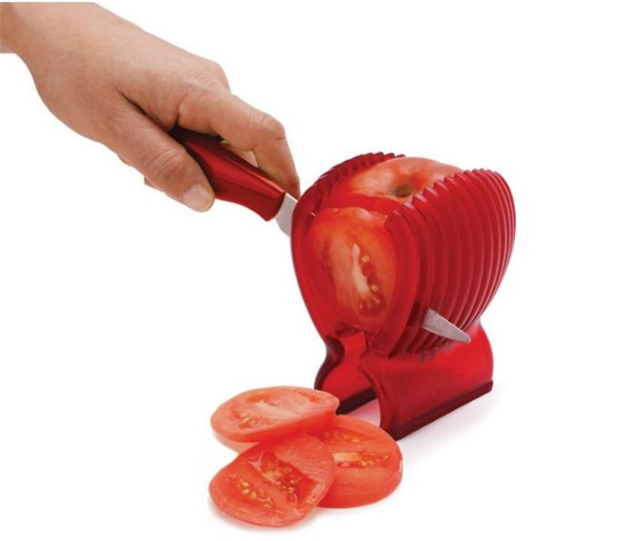 وسیله حلقه کردن و خرد کردن گوجه فرنگی پیاز سیب زمینی Jialong Slicer