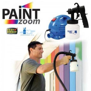 دستگاه کمپرسور رنگ پاش پینت زوم paint zoom ساخت هند