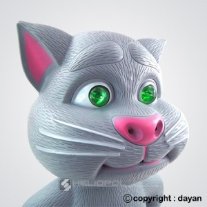 عروسک لمسی تام گربه سخنگو