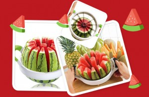 هندوانه قاچ کن وسیله برش انواع صیفی جات به ۱۲ قسمت مساوی