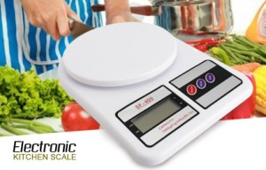 ترازو آشپزخانه دیجیتالی SF-400 با نمایشگر LCD