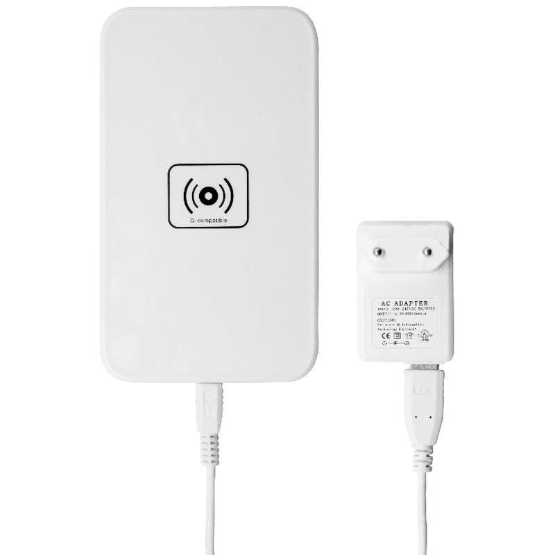 شارژر وایرلس گوشی موبایل+کیت برای اندروید آیفون ۵-۵s-5c و آیفون ۶ پلاس