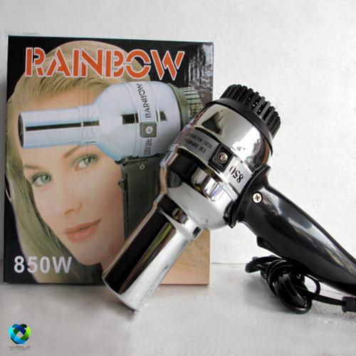 سشوار بدنه استیل rainbow مدل۸۵۰w