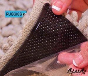 ترمز فرش RUGGIES پکیج ۴ تایی (ترمز و چسب)