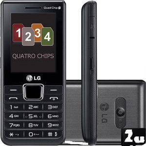 گوشی موبایل ۴ سیمکارت LG A395
