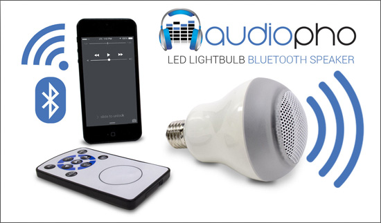 لامپ هوشمند + اسپیکر بلوتوث کنترل دار