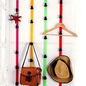 آویز کمربندی لباس و وسایل پشت درب