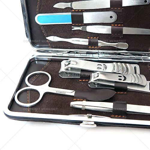 ست مانیکور ۹ تیکه با کیف چرمی مدل DINA