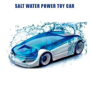 ماشین رباتیک با سوخت آب نمک بدون نیاز به باتری