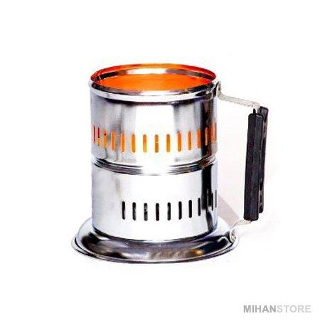دستگاه ذغال سرخ کن برقی استیل ۱۰۰۰ وات