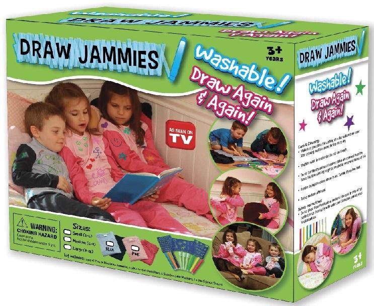 نقاشی روی لباس Draw jammies