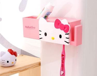 جا مسواکی و خمیردندان عروسکی کوچک چند منظوره Hello Kitty