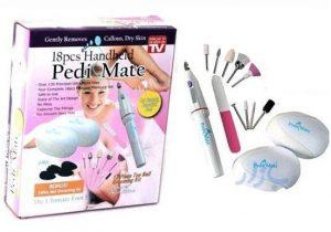 ست ۱۲ تایی پدیکور و مانیکور پدی میت Pedi Mate