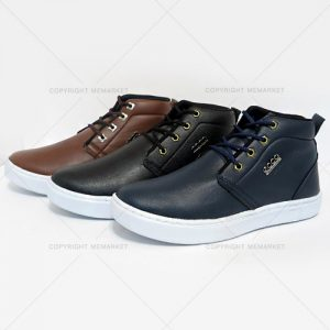 کفش نیم بوت اکو ecco در سه رنگ مشکی/سرمه ای/قهوه ای