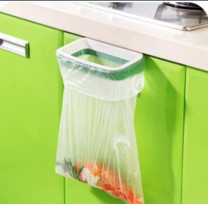 حلق آویز کیسه زباله قابل اتصال به لبه در کابینت