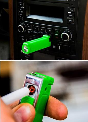 فندک USB همراه با قابلیت شارژ بدون نیاز به گاز