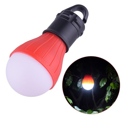 لامپ سیار LED با ۳ حالت نوردهی پرنور، کم نور و چشمک زن