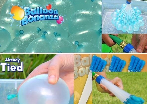 Balloon bonanza slide