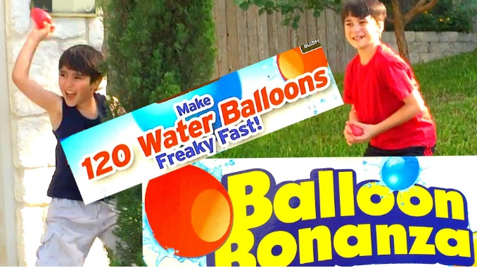 بادکنک آبیBalloon bonanza