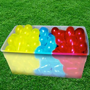 بالون آب بازی بادکنک آبی ۱۲۰ تایی Balloon bonanza