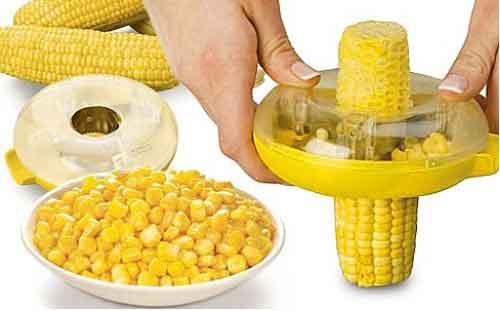 ذرت دانه کن دایره ای Corn Stripper تیغه فولادی ضدزنگ