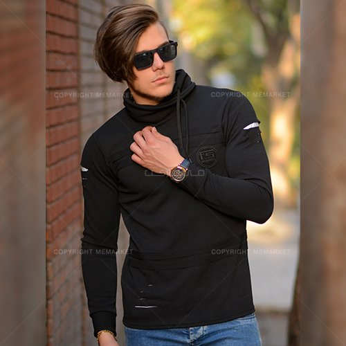 تیشرت مردانه آستین بلند مدل ریوال RIVAL