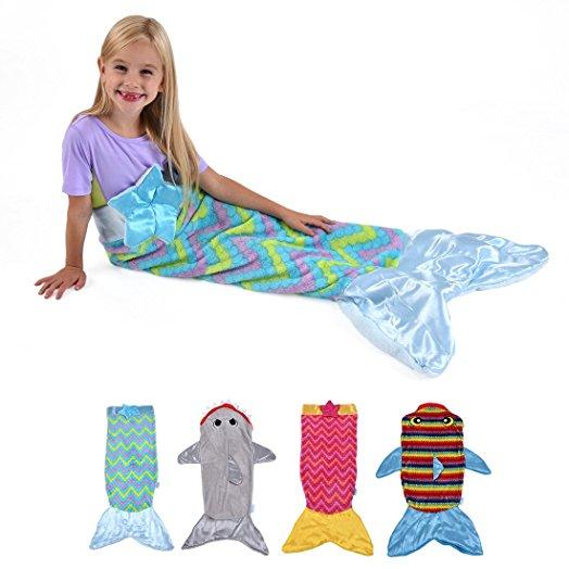 کیسه خواب Snuggie Tails پتوی پری دریایی
