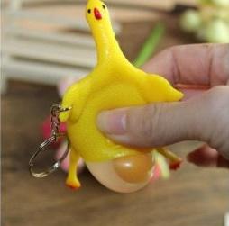 اسباب بازی سرکلیدی مرغ تخم گزار ضد استرس