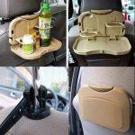 سینی پذیرایی ماشین پشت صندلی تاشو مسافرتی