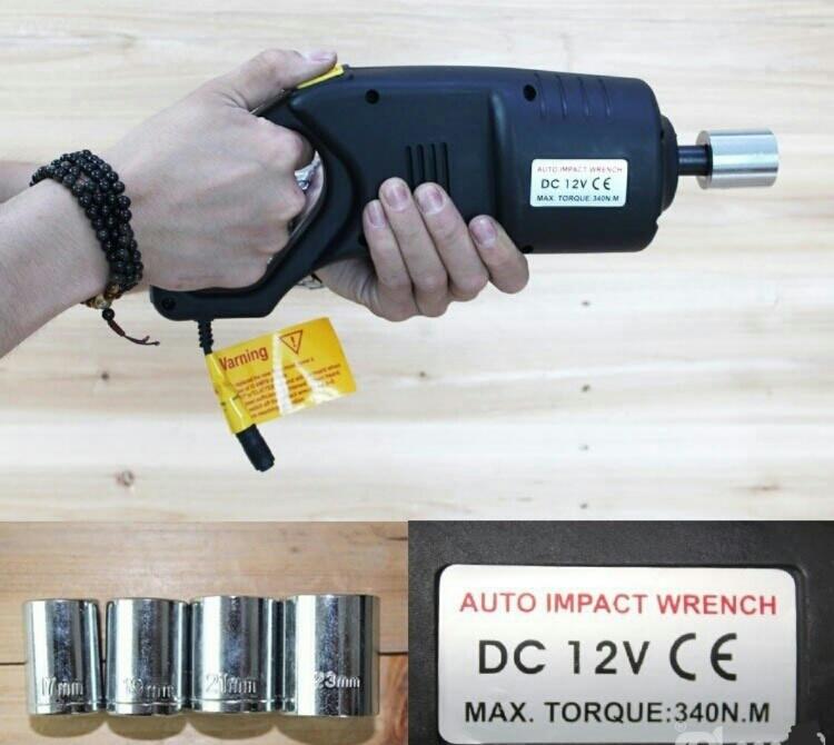 آچار بکس برقی و ضربه ای ماشین (کارکرد با فندک یا باتری خودرو)