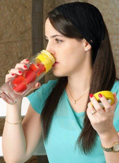 بطری آب (قمقمه) با اسانس میوه FLAVOUR IT