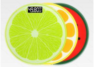 ترازو وزن کشی خانگی شیشه ای با نمایشگر دمای محیط
