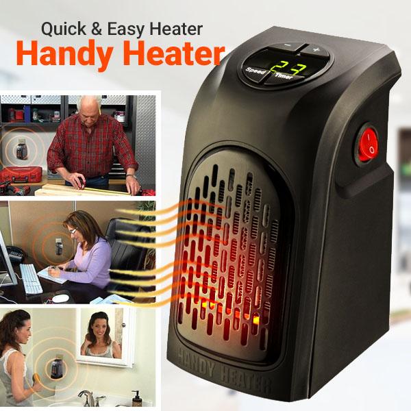 هیتر برقی کوچک هوشمند دیجیتال بدون کابل و قابل حمل Handy Heater
